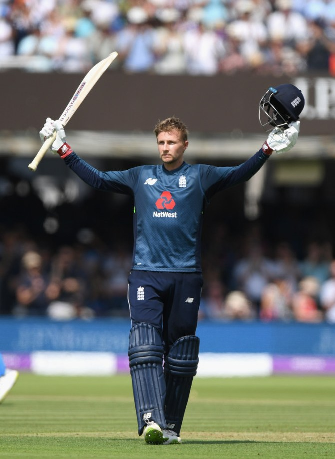 Joe Root 113 England India 2nd ODI Lord's cricket