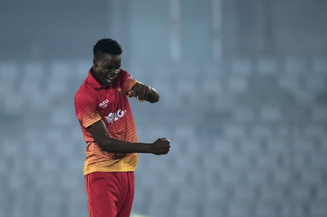 Blessing Muzarabani quits international cricket to play in England Zimbabwe cricket