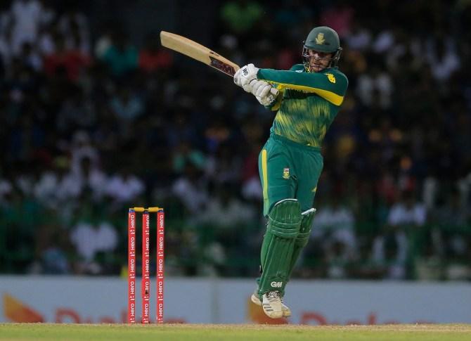 Quinton de Kock 54 Sri Lanka South Africa 5th ODI Colombo cricket