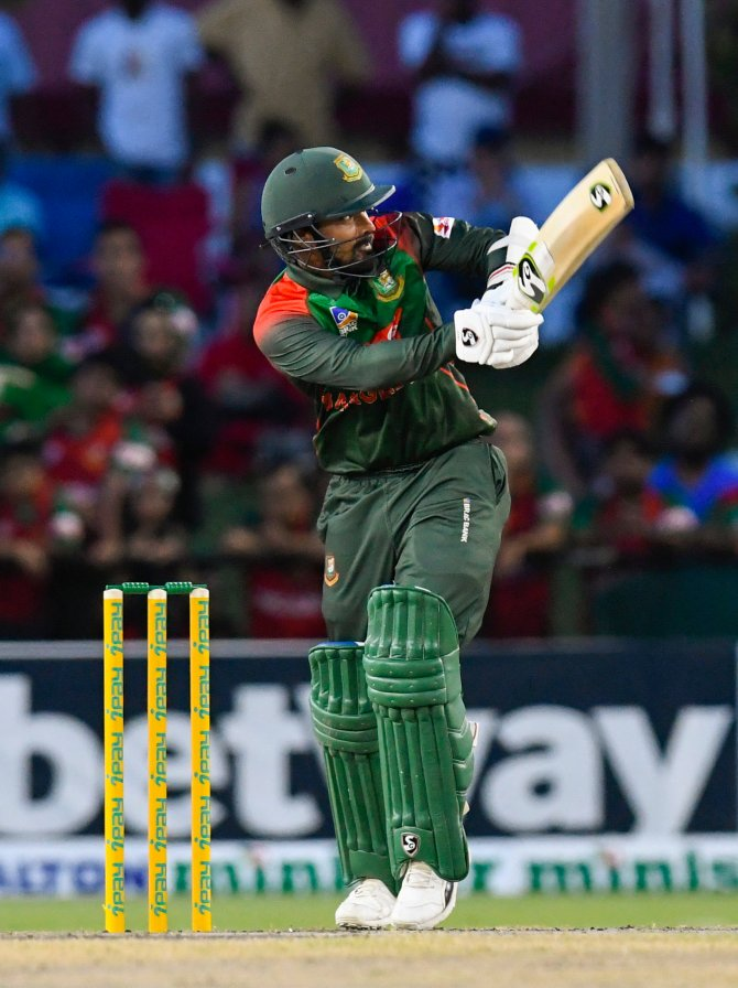 Liton Das 61 West Indies Bangladesh 3rd T20 Lauderhill Florida cricket
