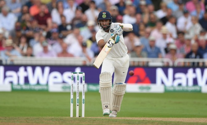 Cheteshwar Pujara 72 England India 3rd Test Day 3 Nottingham cricket