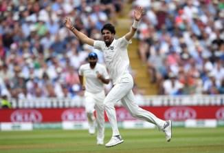 Ishant Sharma five wickets England India 1st Test Day 3 Edgbaston cricket