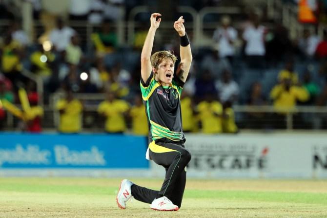 Adam Zampa three wickets Jamaica Tallawahs St Lucia Stars Caribbean Premier League CPL cricket