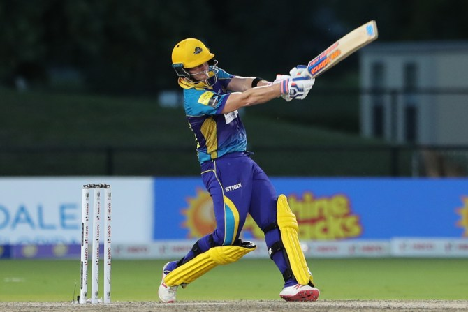 Steve Smith 63 two wickets Barbados Tridents Jamaica Tallawahs Caribbean Premier League CPL cricket