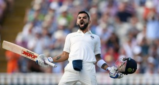 Virat Kohli 149 England India 1st Test Day 2 Edgbaston cricket