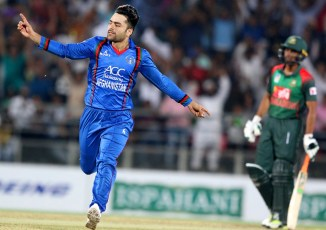 Rashid Khan said it's a great pleasure to bowl to Babar Azam
