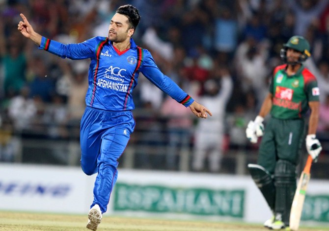 Rashid Khan said it's a great pleasure to bowl to Babar Azam