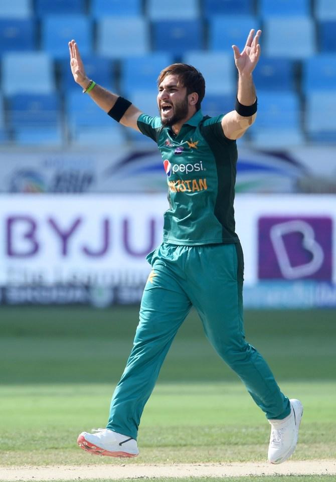 Usman Khan three wickets Pakistan Hong Kong Asia Cup 2nd Match cricket