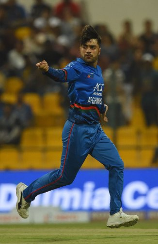 Rashid Khan Asghar Afghan Hasan Ali fined 15 percent match fees demerit point Afghanistan Pakistan Asia Cup cricket
