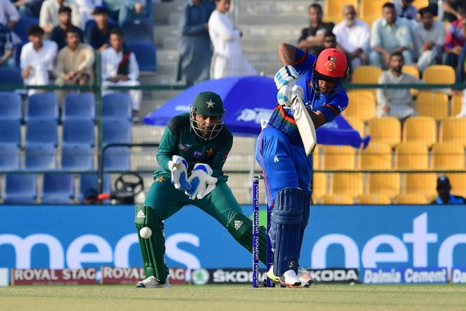 Hashmatullah Shahidi 97 not out Pakistan Afghanistan Asia Cup Super Four cricket