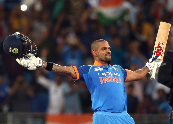 Shikhar Dhawan 114 India Pakistan Asia Cup Super Four cricket