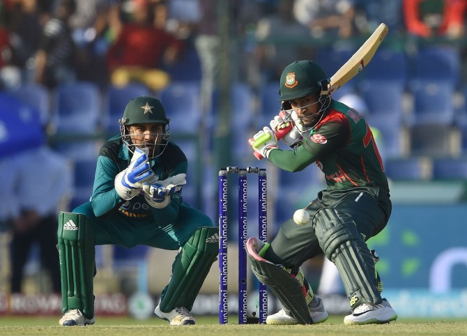 Mushfiqur Rahim 99 Bangladesh Pakistan Asia Cup Super Four cricket