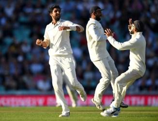 Ishant Sharma three wickets England India 5th Test Day 1 The Oval cricket