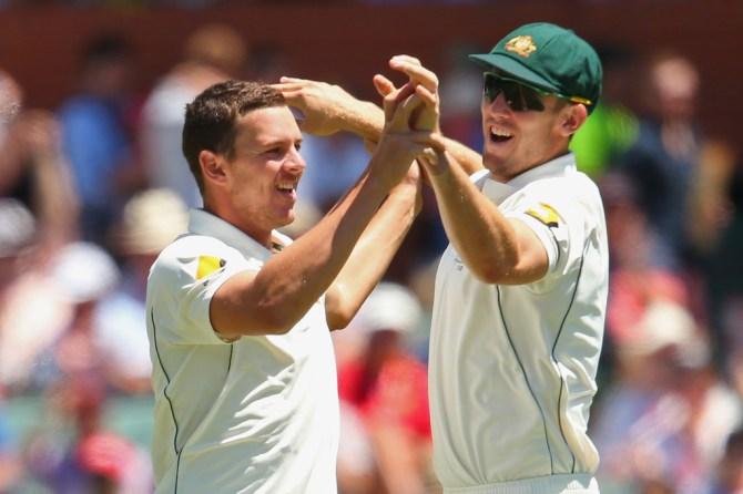 Mitchell Marsh Josh Hazlewood appointed vice-captain Test team Australia cricket