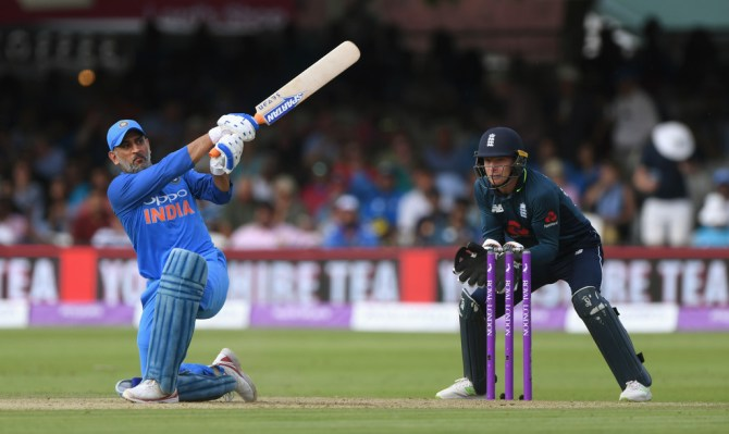 MS Dhoni I stepped down as limited overs captain at the right time India cricket