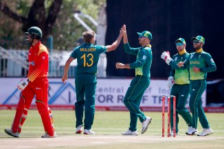 Willem Mulder miss rest ODI series Zimbabwe ankle injury South Africa cricket