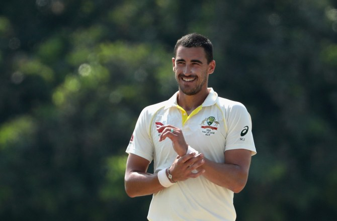 Mitchell Starc Peter Siddle targeting Azhar Ali Australia Pakistan Test series UAE cricket