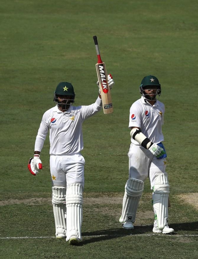 Mohammad Hafeez 126 Pakistan Australia 1st Test Day 1 Dubai cricket