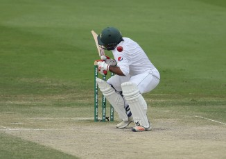Sarfraz Ahmed taken hospital precautionary scans struck close to ear while batting Pakistan Australia 2nd Test Abu Dhabi cricket