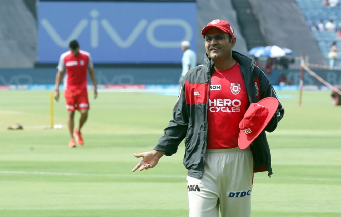 Kings XI Punjab parts ways with Virender Sehwag Indian Premier League IPL cricket