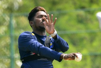 Akila Dananjaya reported suspect bowling action Sri Lanka cricket