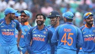 Ravindra Jadeja four wickets India West Indies 5th ODIThiruvananthapuram cricket