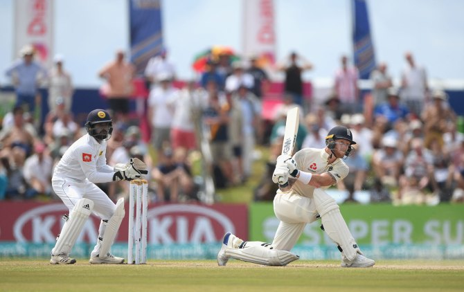 Ben Stokes 62 Sri Lanka England 1st Test Day 3 Galle cricket