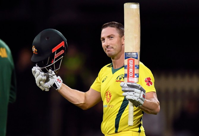 Shaun Marsh 106 Australia South Africa 3rd ODI Hobart cricket