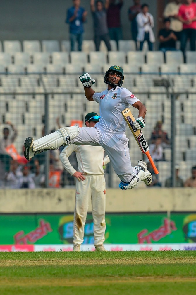 Mahmudullah 101 Bangladesh Zimbabwe 2nd Test Day 4 Dhaka cricket