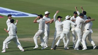 Ajaz Patel five wickets Pakistan New Zealand 1st Test Day 4 Abu Dhabi cricket
