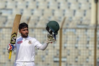 Mominul Haque 120 Bangladesh West Indies 1st Test Day 1 Chittagong cricket