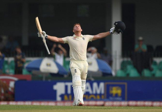 Jonny Bairstow 110 Sri Lanka England 3rd Test Day 1 Colombo cricket