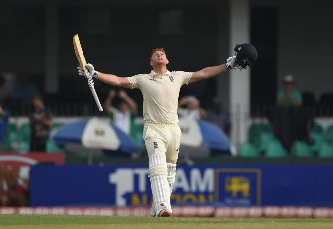 Jonny Bairstow 110 Sri Lanka England 3rd Test Day 1 Colombo cricket