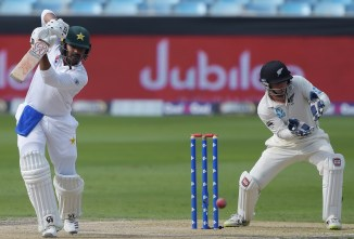 Haris Sohail 81 not out Pakistan New Zealand 2nd Test Day 1 Dubai cricket
