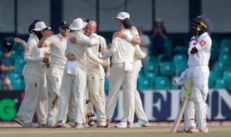 Jack Leach four wickets Sri Lanka England 3rd Test Day 4 Colombo cricket
