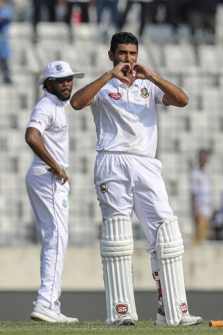 Mahmudullah 136 Bangladesh West Indies 2nd Test Day 2 Dhaka cricket