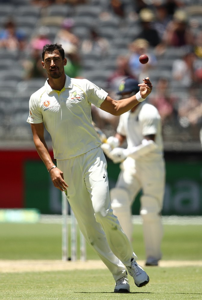 Mitchell Starc Australia beat India 146 runs 2nd Test Day 5 Perth cricket