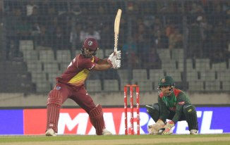 Evin Lewis 89 Bangladesh West Indies 3rd T20 Dhaka cricket