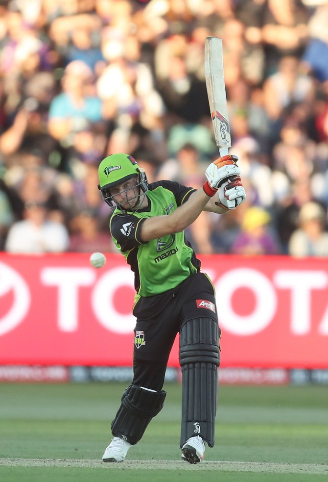 Jos Buttler 63 Sydney Thunder Sydney Sixers Big Bash League BBL 8th Match cricket
