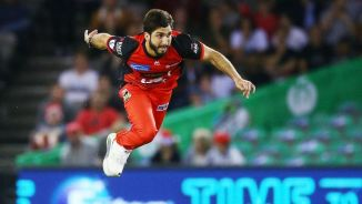 Usman Khan Shinwari two wickets Melbourne Renegades Perth Scorchers Big Bash League BBL 2nd Match cricket