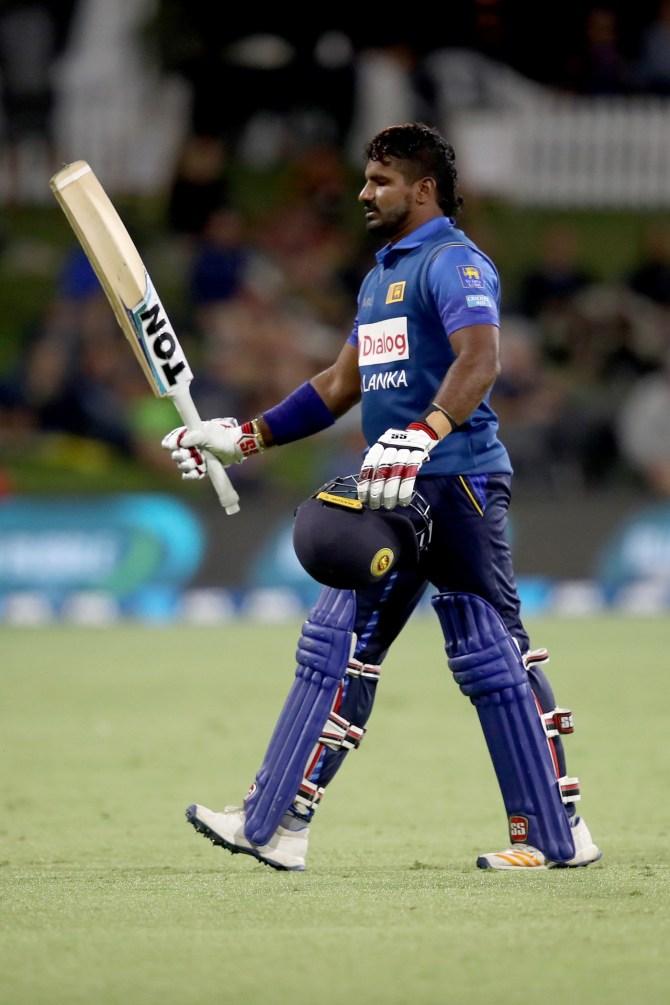 Kusal Perera 102 New Zealand Sri Lanka 1st ODI Mount Maunganui cricket