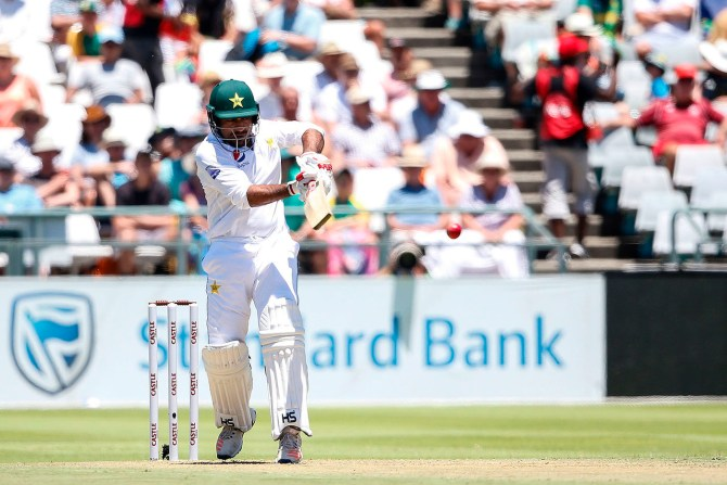 Sarfraz Ahmed 56 South Africa Pakistan 2nd Test Day 1 Cape Town cricket