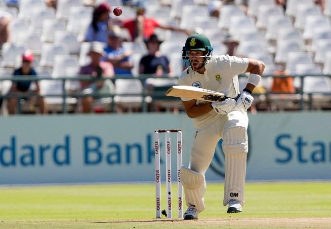 Aiden Markram 78 South Africa Pakistan 2nd Test Day 1 Cape Town cricket