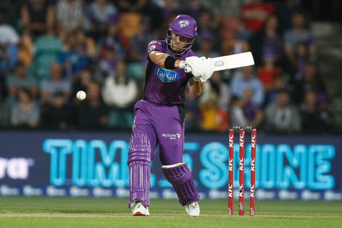 D'Arcy Short 64 Hobart Hurricanes Sydney Sixers Big Bash League BBL 19th Match cricket