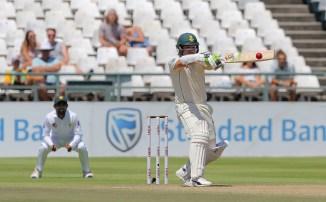 Dean Elgar 24 South Africa Pakistan 2nd Test Day 4 Cape Town cricket