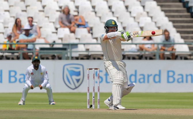 Dean Elgar 24 South Africa Pakistan 2nd Test Day 4 Cape Town cricket