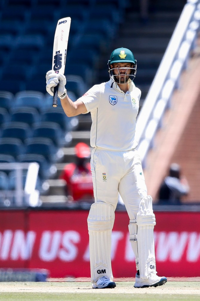 Aiden Markram 90 South Africa Pakistan 3rd Test Day 1 Johannesburg cricket