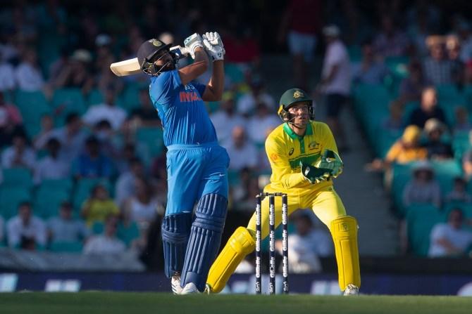Rohit Sharma 133 Australia India 1st ODI Sydney cricket