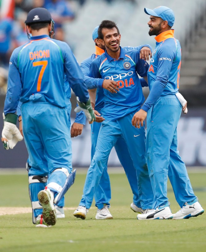 Yuzvendra Chahal six wickets Australia India 3rd ODI Melbourne cricket