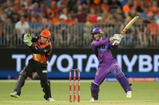 George Bailey 69 Hobart Hurricanes Perth Scorchers Big Bash League BBL 34th Match cricket